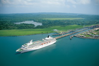 Cruises through Panama Canal